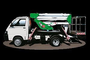 Piattaforma aerea Comet – Mini Trucks - New Eurosky HQ - 14 | 2 | 6 HQ JIB